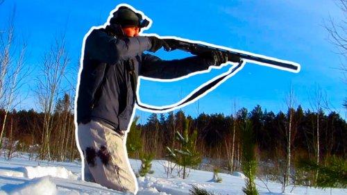 Охота на лунках лучшие моменты #1 Выстрелы по тетеревам и рябчикам