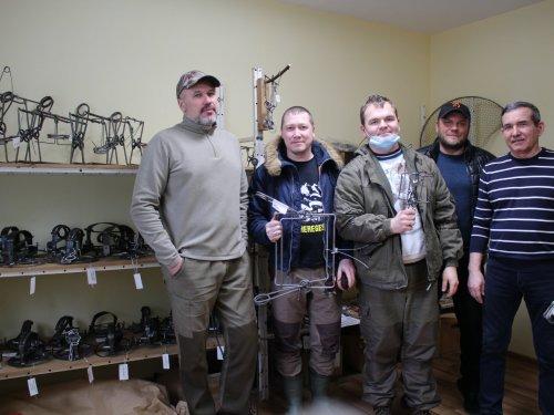 Встреча охотников за пушниной на заводе охотничьих капканов СУАС