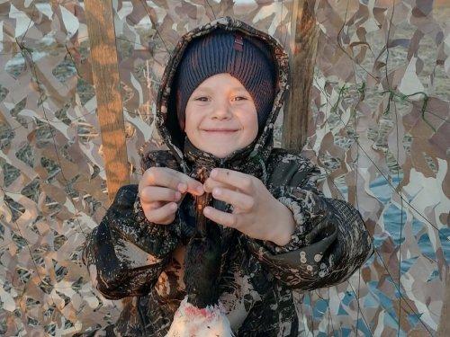 Счастливый охотник!