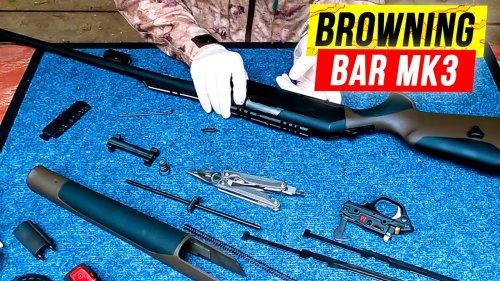 Полный РАЗБОР Browning Bar MK3. Сборка / разборка браунинг бар мк3