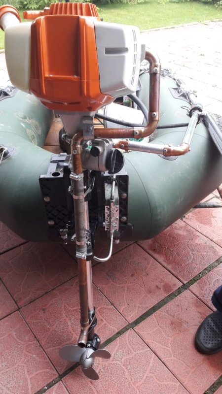 Модернизация лодочного мотора Т-2.5