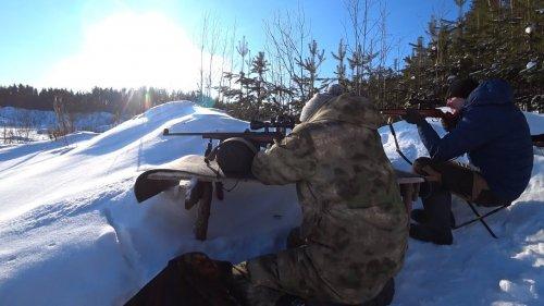 Стрельба с мелкашек. Тоз 78-01 и CZ -455.