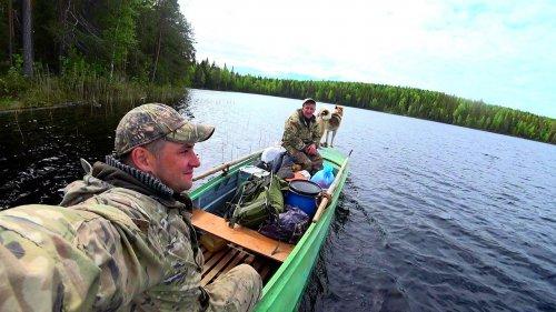 Поездка в лес на 7 дней.Рыбалка.Копчение рыбы.Ночёвка на ближнем кордоне.Часть 3