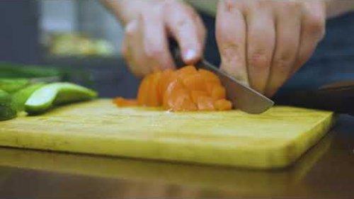Готовим гуся и тестируем нож 110Х18