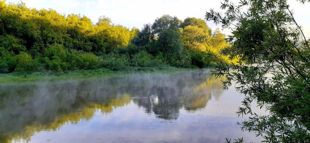 Утро на реке!