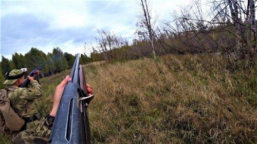 Охота на утку. Поиск бобров. Стрельба влет.
