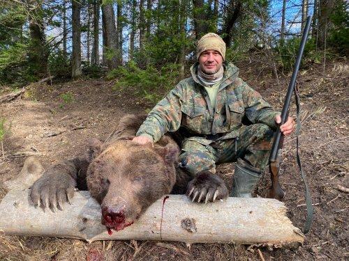 Первый мой медведь